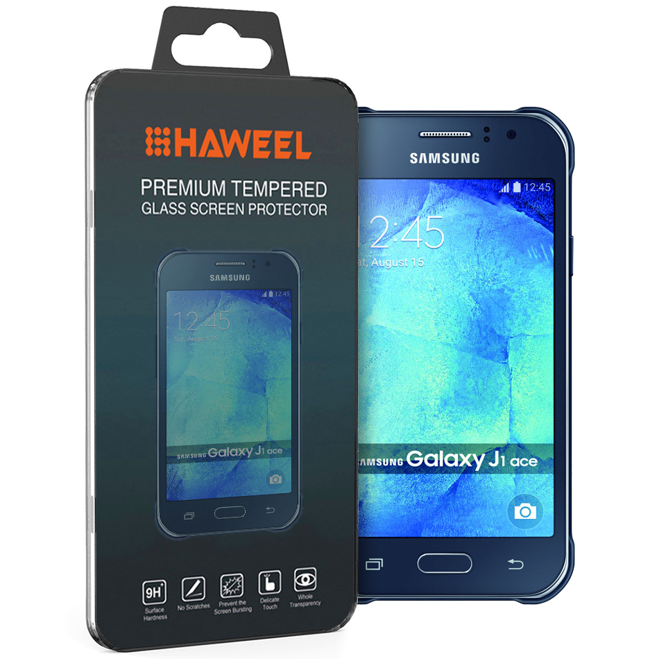 Haweel 9H Tempered Glass Screen Protector For Samsung Galaxy J1 Ace
