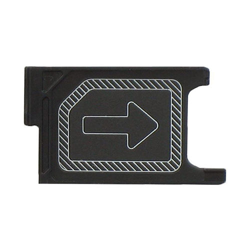Replacement Micro SIM Card Tray Slot for Sony Xperia Z3 - Black