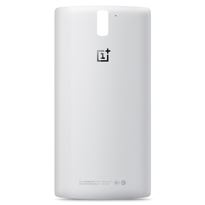 separation shoes 51fc7 e05f2 StyleSwap Replacement Back Cover for OnePlus One - Silk White