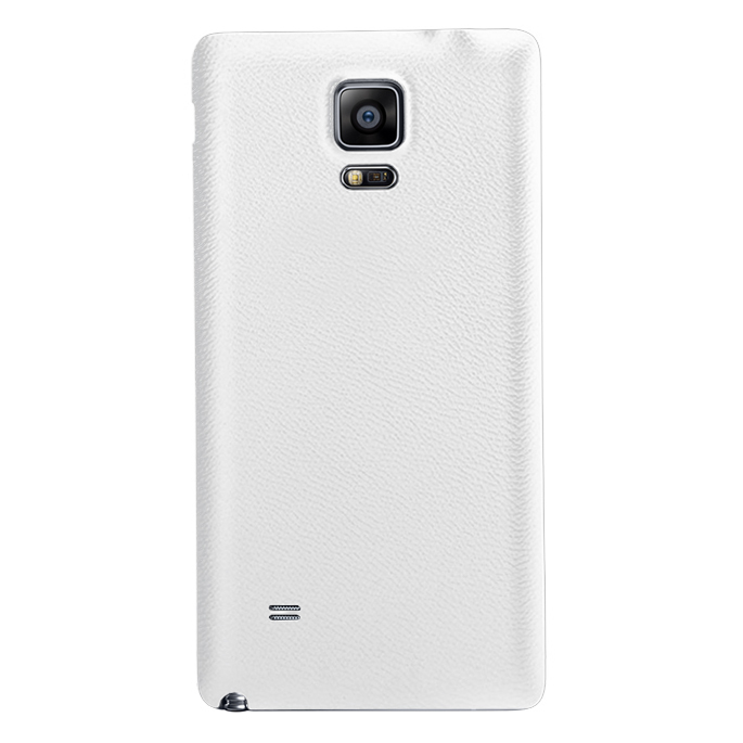 big sale f40b4 200b7 Replacement Back Cover for Samsung Galaxy Note 4 - Lychee White