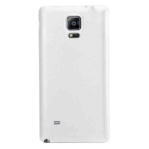 Replacement Back Cover for Samsung Galaxy Note 4 - Lychee White