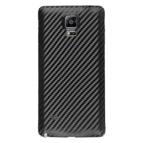 Replacement Back Cover for Samsung Galaxy Note 4 - Carbon Fibre Black