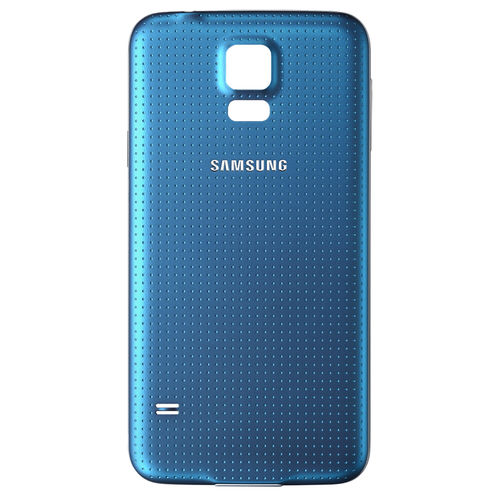 Replacement Water Resistant Back Cover for Samsung Galaxy S5 - Blue