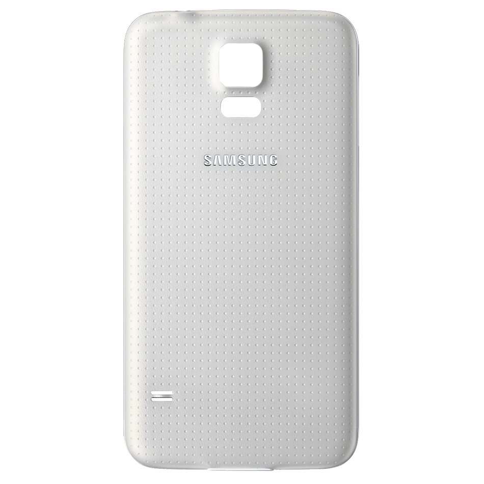competitive price 9cffe cedf1 Replacement Water Resistant Back Cover for Samsung Galaxy S5 - White