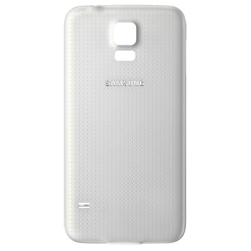 Replacement Water Resistant Back Cover for Samsung Galaxy S5 - White