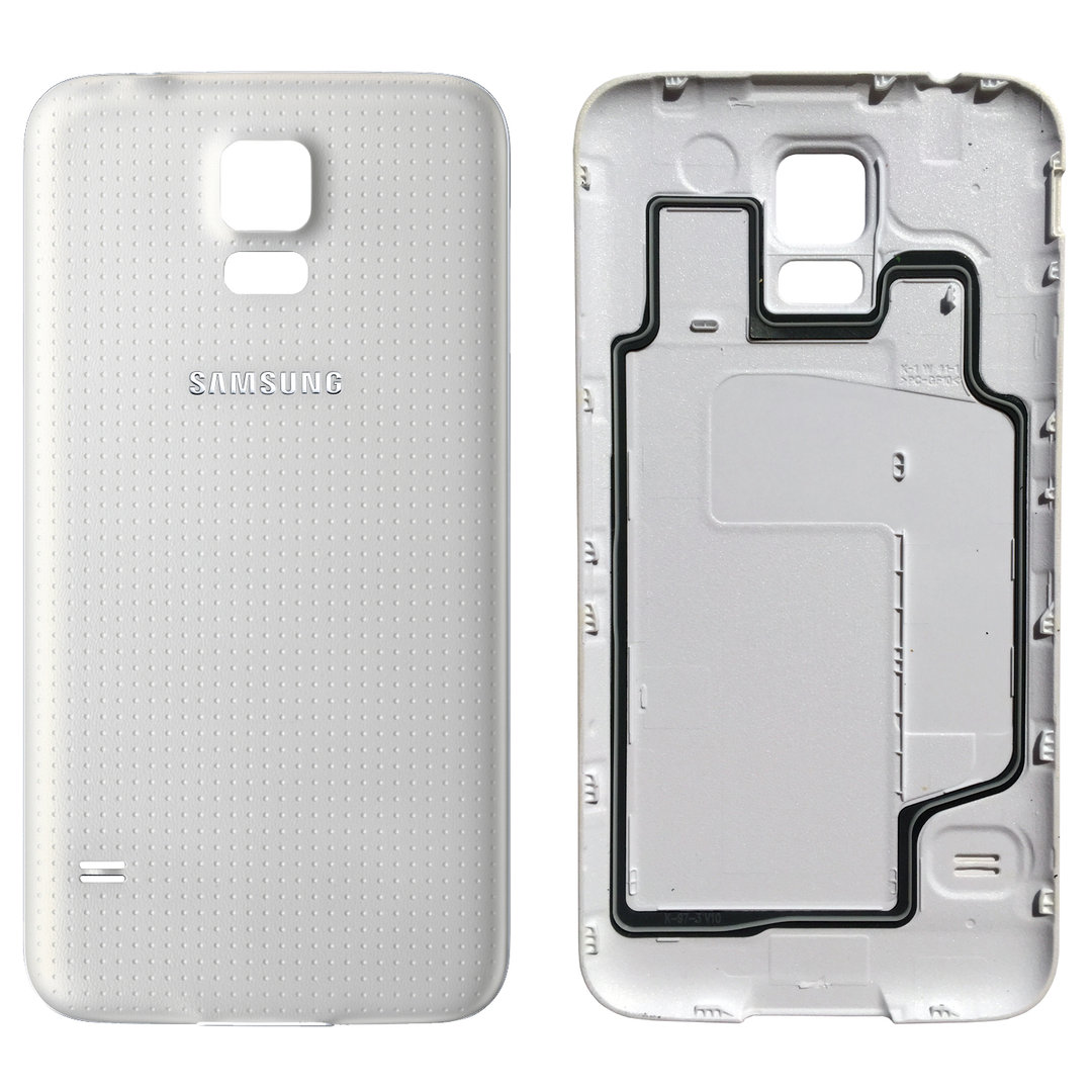 competitive price e8034 840c9 Replacement Water Resistant Back Cover for Samsung Galaxy S5 - White