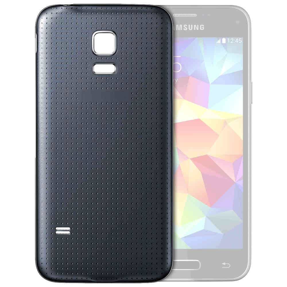 free shipping 7e58a 71057 Back Cover Replacement for Samsung Galaxy S5 Mini - Charcoal Black