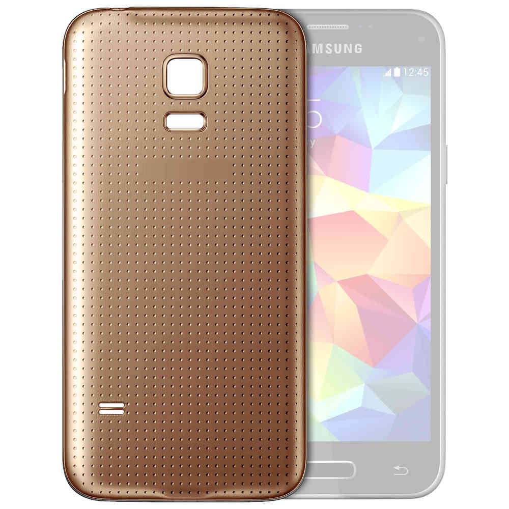 brand new 3d75f 5bfa8 Back Cover Replacement for Samsung Galaxy S5 Mini - Copper Gold