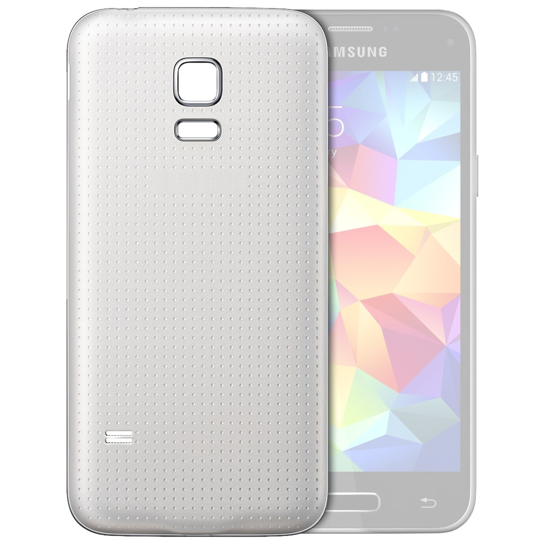 separation shoes b8c11 a94d7 Back Cover Replacement for Samsung Galaxy S5 Mini - Shimmery White