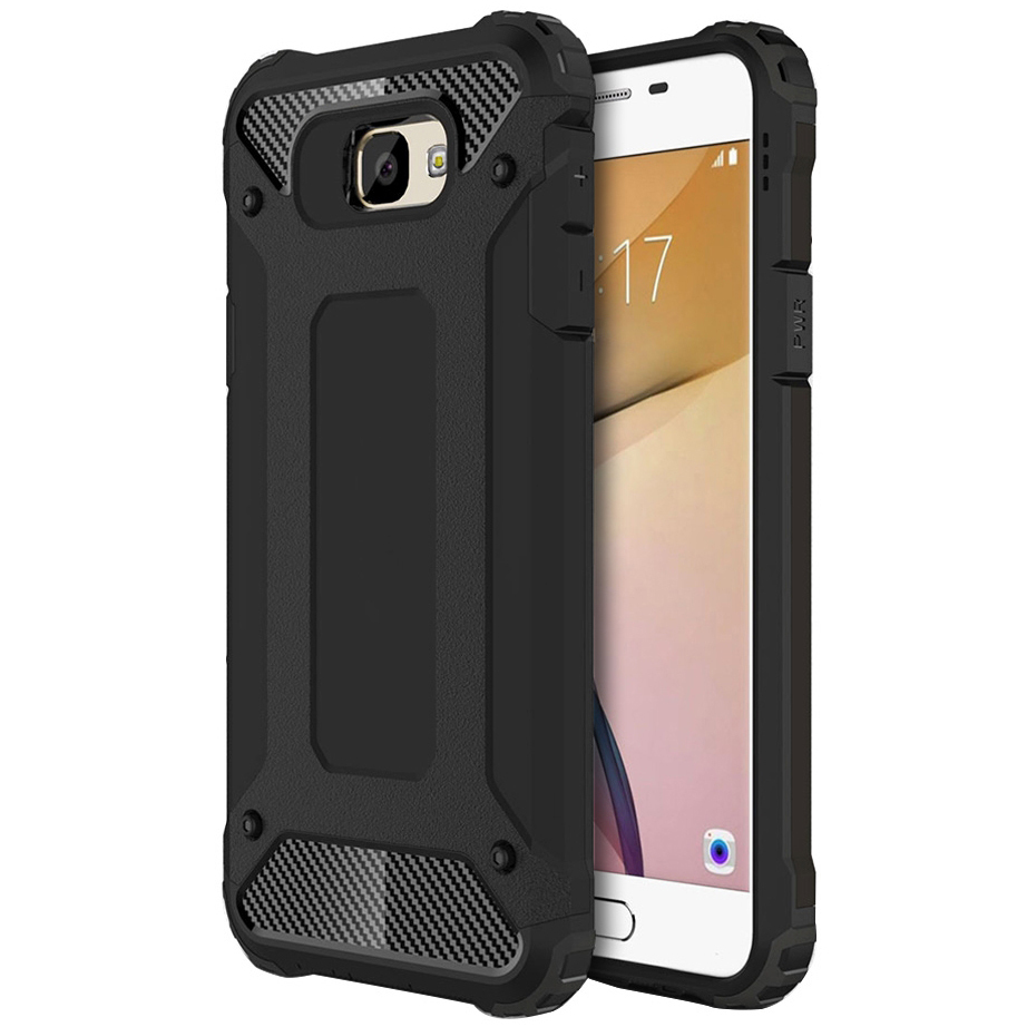 online store dc664 22486 Defender Shockproof Case - Samsung Galaxy J5 Prime (Black)