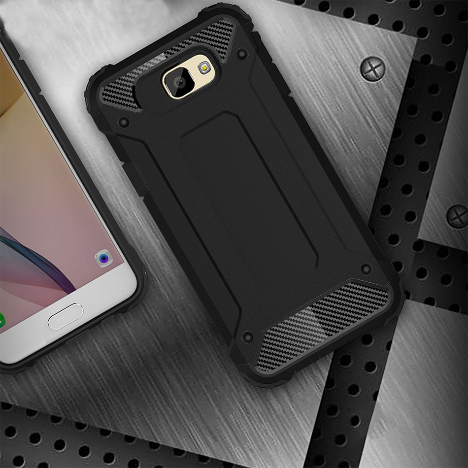 competitive price 2d68a 29269 Military Shockproof Case - Samsung Galaxy J7 Prime (Black)