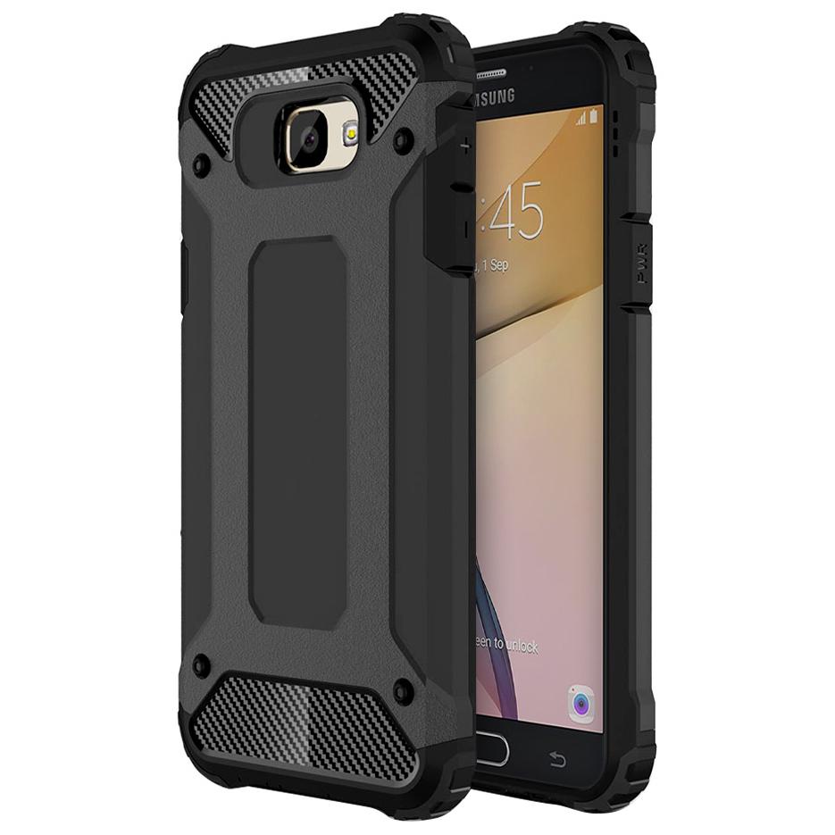 competitive price f21eb e28de Military Shockproof Case - Samsung Galaxy J7 Prime (Black)