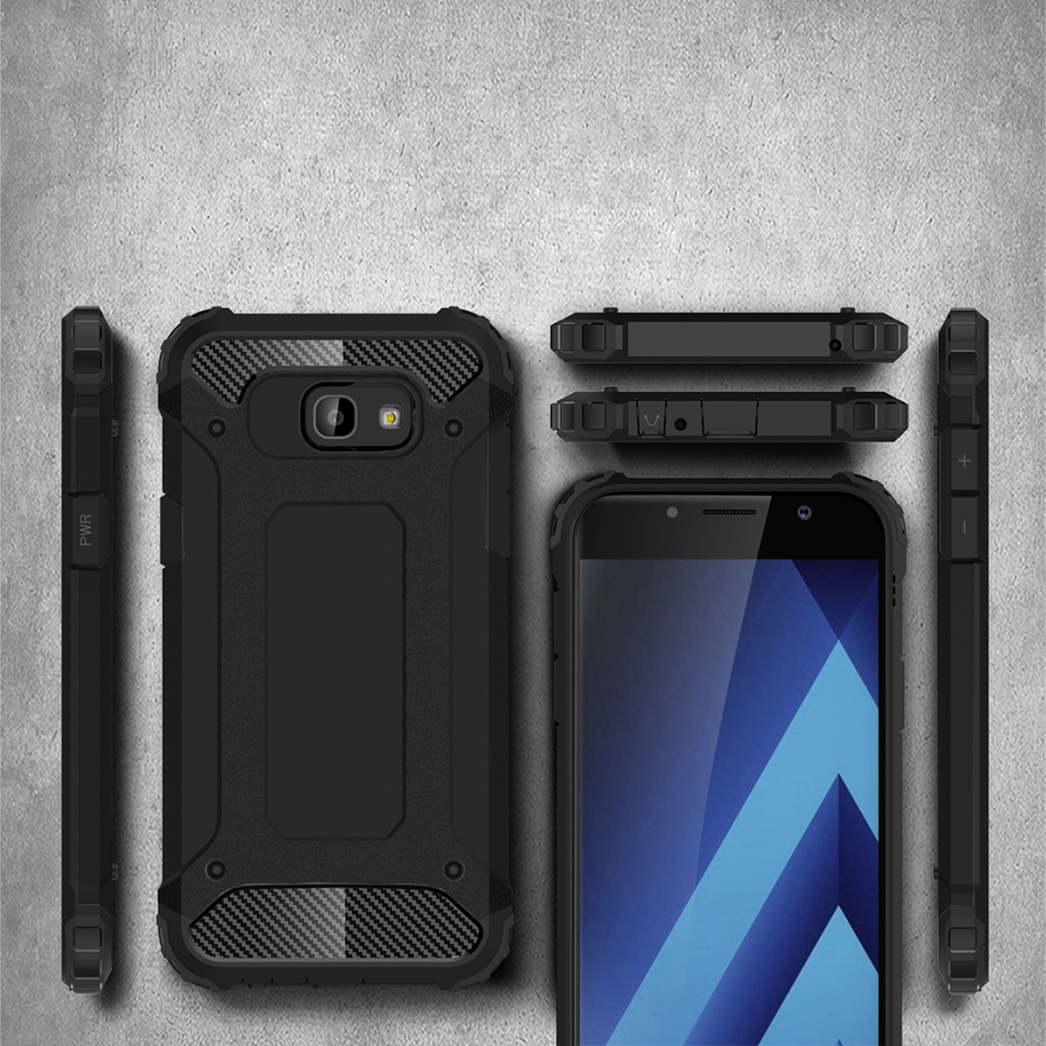 hot sale online 3bf73 d0293 Defender Shockproof Case - Samsung Galaxy A5 (2017) - Black