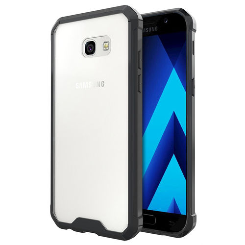 Hybrid Fusion Frame Bumper Case for Samsung Galaxy A5 (2017) - Black
