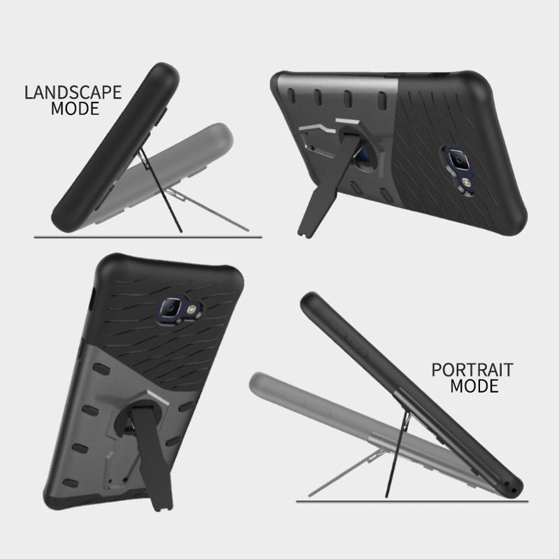 Slim Tough Shockproof Case - Samsung Galaxy J7 Prime (Grey)