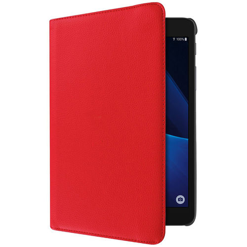 Smart Leather Case & Stand for Samsung Galaxy Tab A 7.0 (2016) - Red