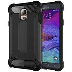 Military Defender Shockproof Case for Samsung Galaxy Note 4 - Black
