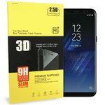3D Tempered Glass Screen Protector - Samsung Galaxy S8 Plus - Black