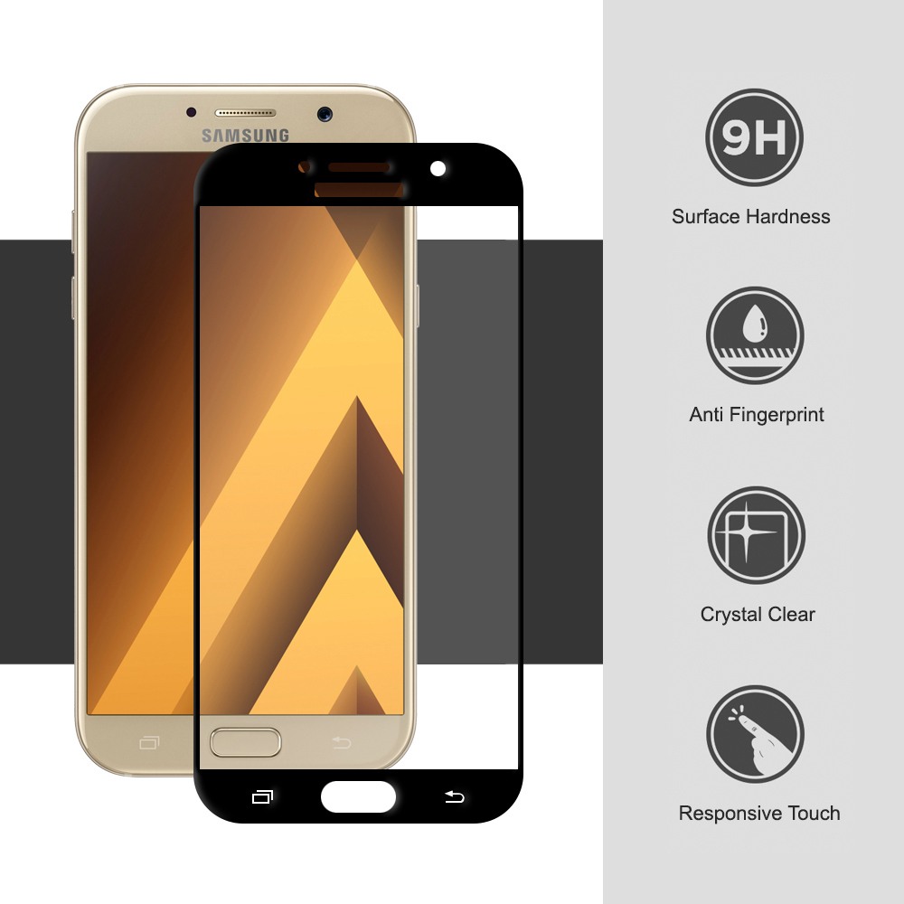 Full Tempered Glass Screen Protector Samsung Galaxy A7 2017