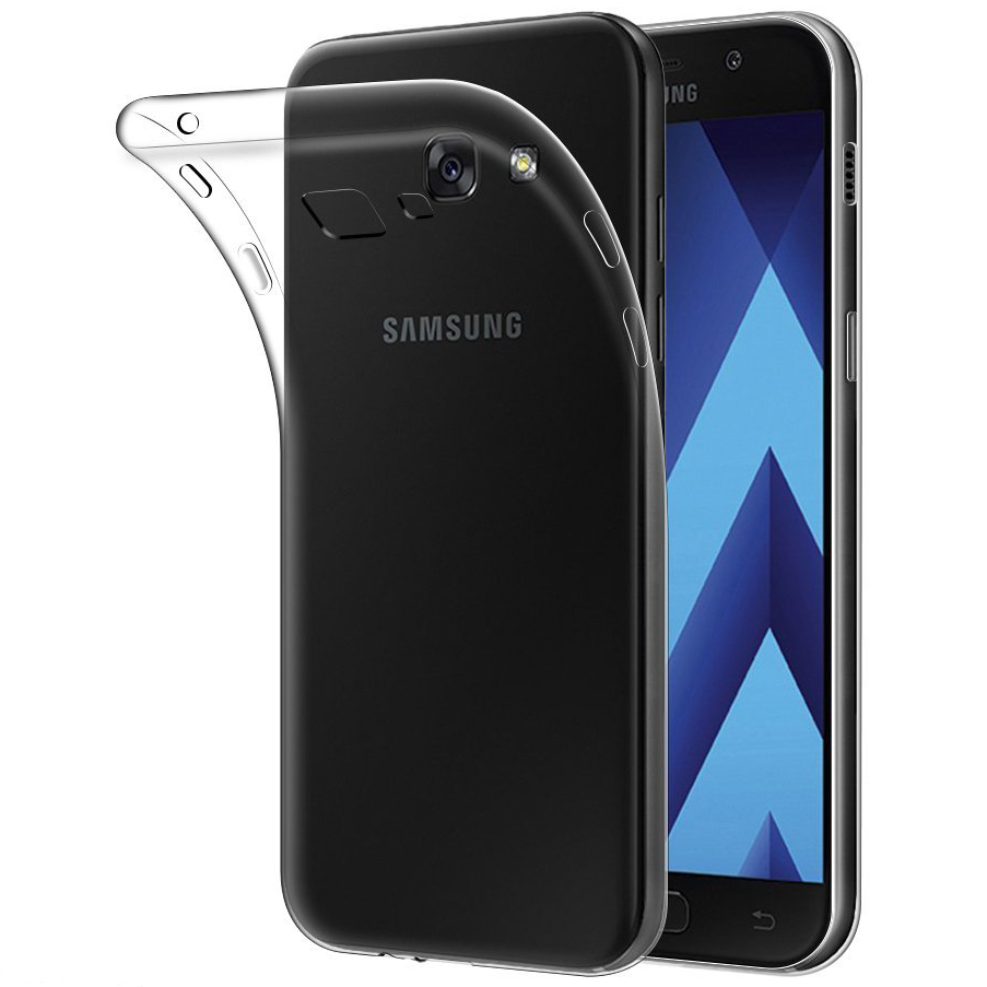 Case Oppo Jelly Flexi Thin Gel Samsung Galaxy A7 2017 Clear Crystal For