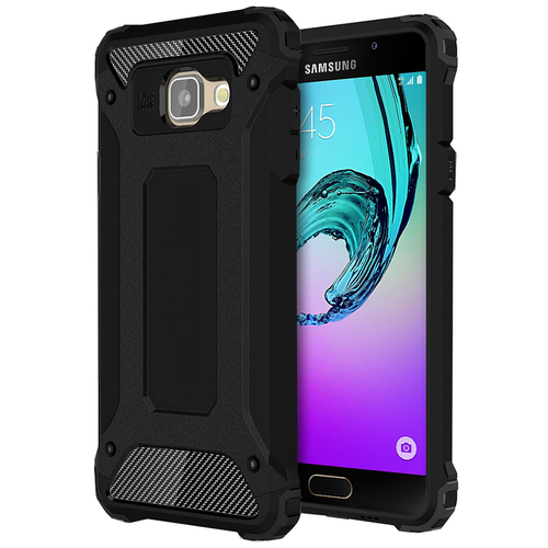 Military Defender Shockproof Case for Samsung Galaxy A5 (2016) - Black