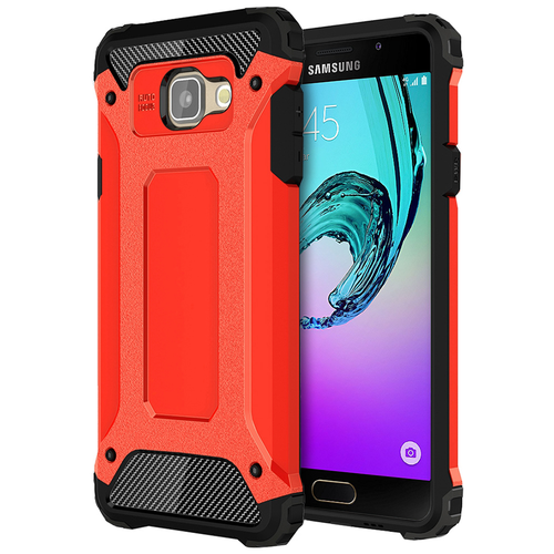 Military Defender Shockproof Case for Samsung Galaxy A5 (2016) - Red