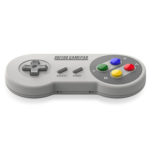 8Bitdo SFC30 SNES Wireless Bluetooth Game Controller (Mac/PC/Android/Switch)