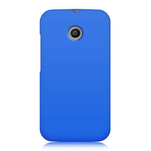 Flexi Candy Gum Case for Motorola Moto E 1st Gen - Blue