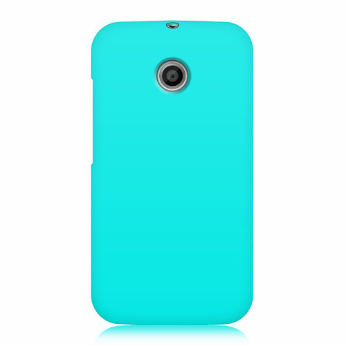 Flexi Candy Gum Case for Motorola Moto E 1st Gen - Aqua Blue