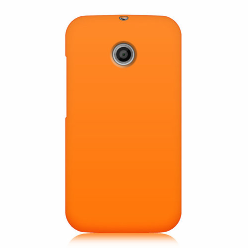 Flexi Candy Gum Case for Motorola Moto E 1st Gen - Orange