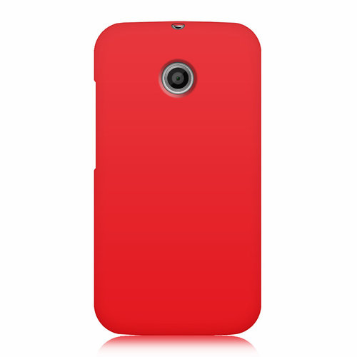 Flexi Candy Gum Case for Motorola Moto E 1st Gen - Red