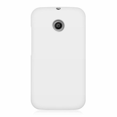 Flexi Candy Gum Case for Motorola Moto E 1st Gen - White