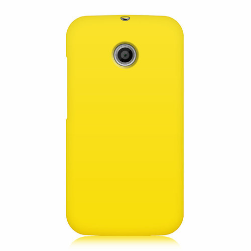 Flexi Candy Gum Case for Motorola Moto E 1st Gen - Yellow