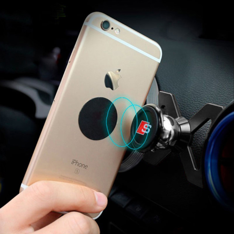 Car Air Vent Mount 360 Magnetic Phone Holder - Audi A3 / S3