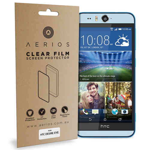Aerios (2-Pack) Clear Film Screen Protector for HTC Desire Eye
