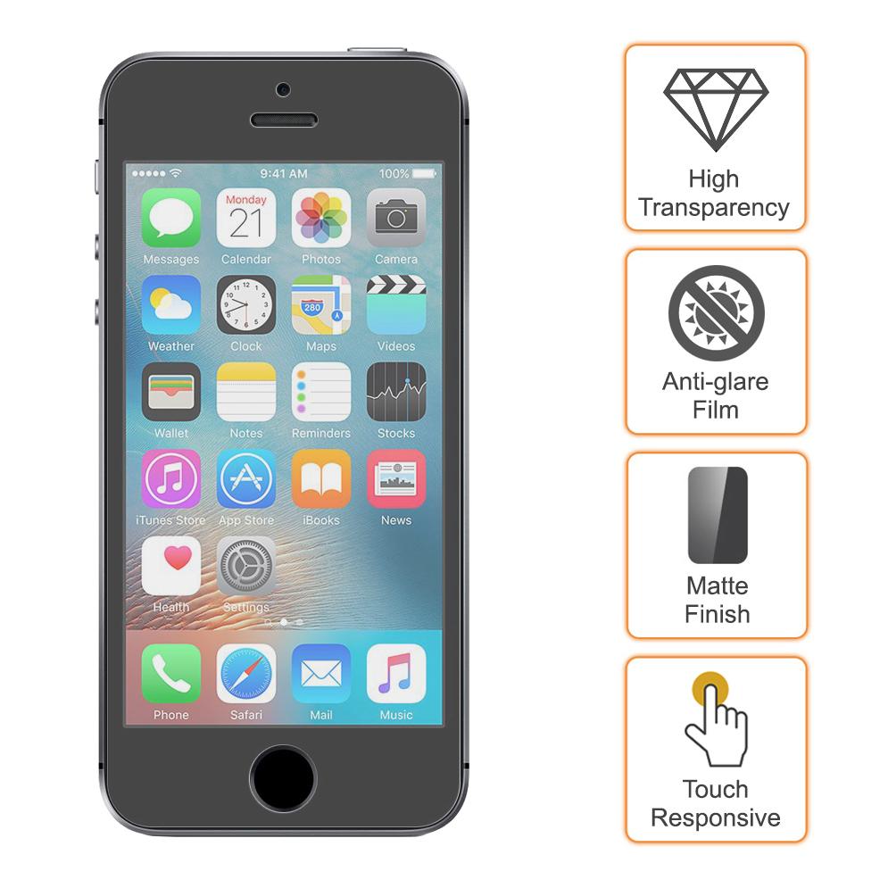 half off 40d09 f32fa Matte Antiglare Screen Protector - Apple iPhone SE / 5s