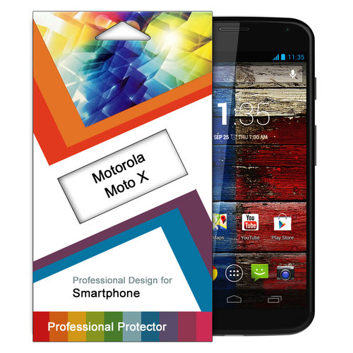 (2-Pack) Clear Film Screen Protector for Motorola Moto X 1st Gen