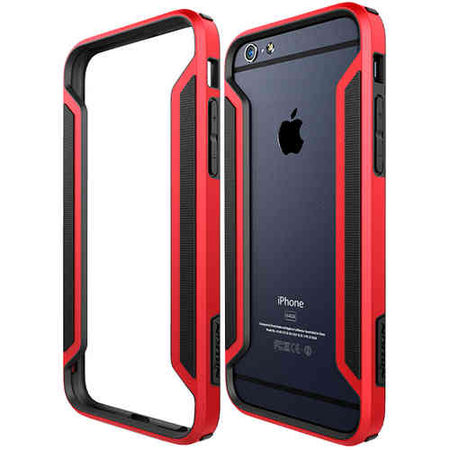 Nillkin Slim Armor Border Bumper Case for Apple iPhone 6 / 6s - Red