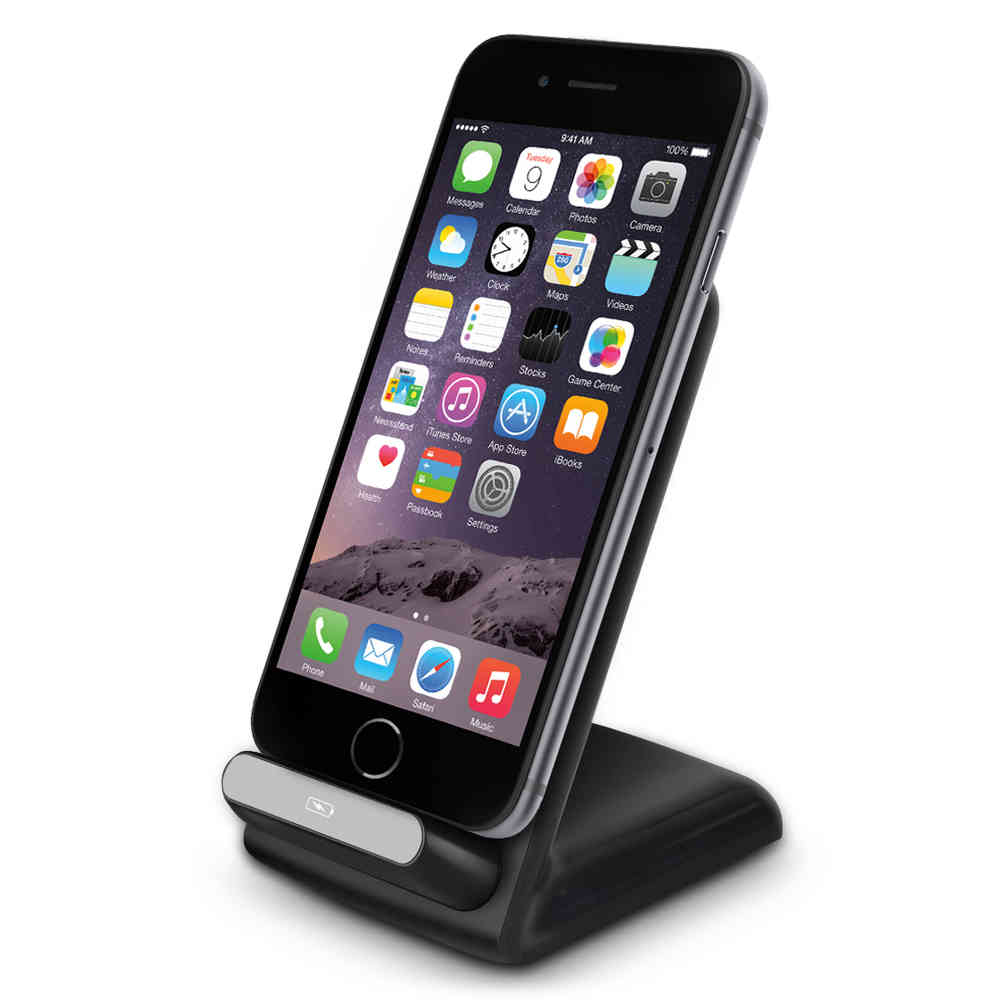 hot sale online e49ea 81004 Qi Wireless Charging Stand - Apple iPhone 6s / 5s / SE