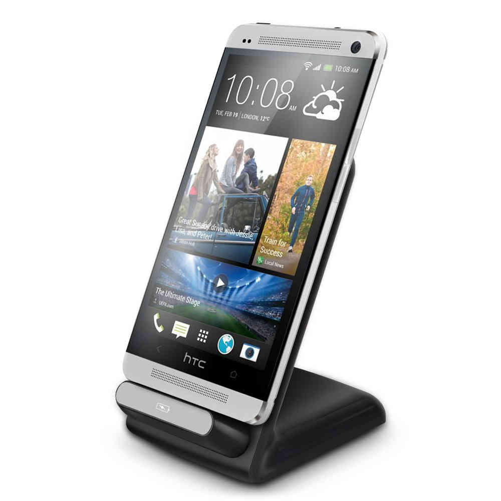 promo code d35ab 9043f Qi Wireless Charger Dock & Charging Stand - HTC One M7