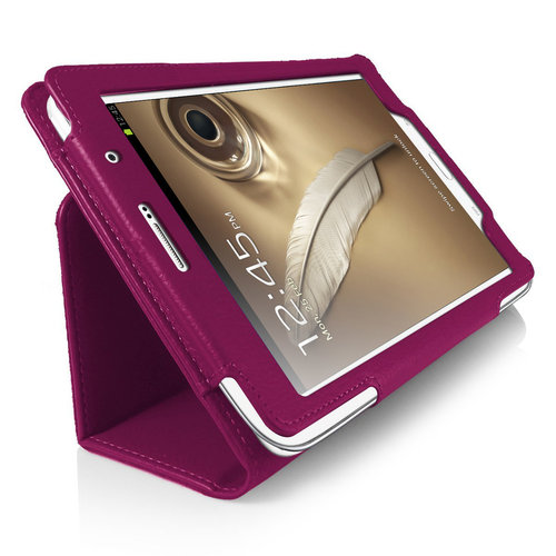 Orzly Folio Stand & Type Case for Samsung Galaxy Note 8.0 - Purple
