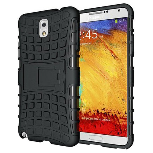 100% authentic 41c5a 56be3 Rugged Tough Shockproof Case - Samsung Galaxy Note 3 (Black)