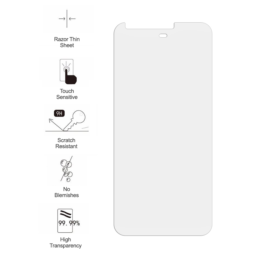 9h Tempered Glass Screen Protector Google Pixel Phone