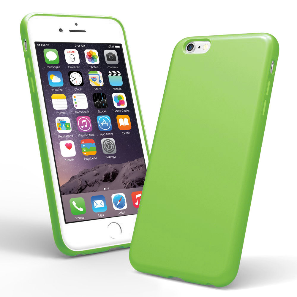 5e711276e30d Spectrum Case for Apple iPhone 6s Plus (Lime Green)