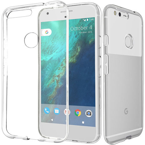 Flexi Gel Crystal Case for Google Pixel Phone - Clear (Gloss Grip)
