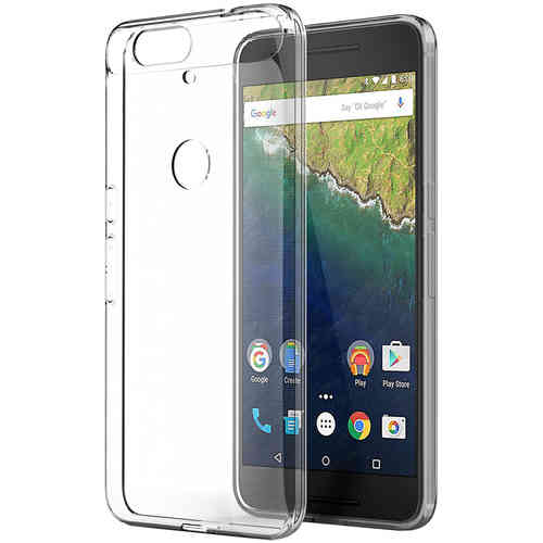 Flexi Gel Crystal Case for Huawei Google Nexus 6P - Clear (Gloss)