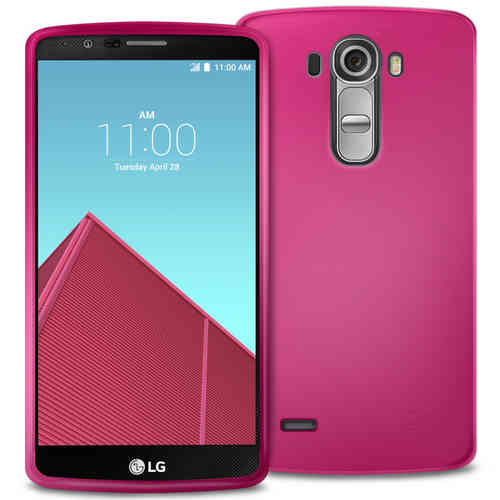 Flexi Gel Case for LG G4 - Smoke Pink (Two-Tone)