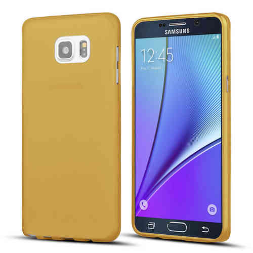 Flexi Slim Case for Samsung Galaxy Note 5 - Smoke Gold  (Matte)