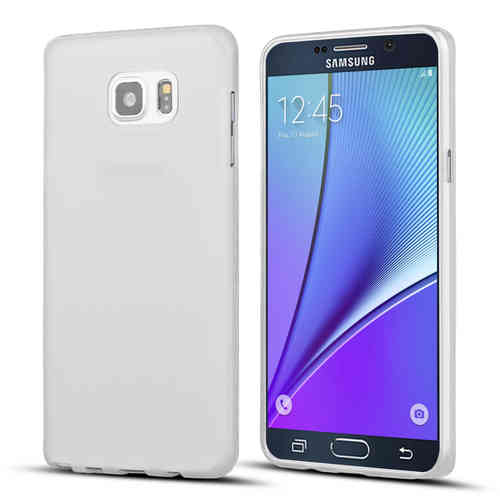 Flexi Slim Case for Samsung Galaxy Note 5 - Smoke White (Matte)
