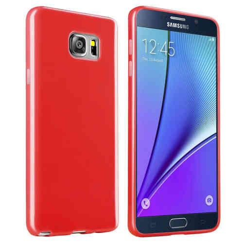 Flexi Slim Case for Samsung Galaxy Note 5 - Red (Matte)